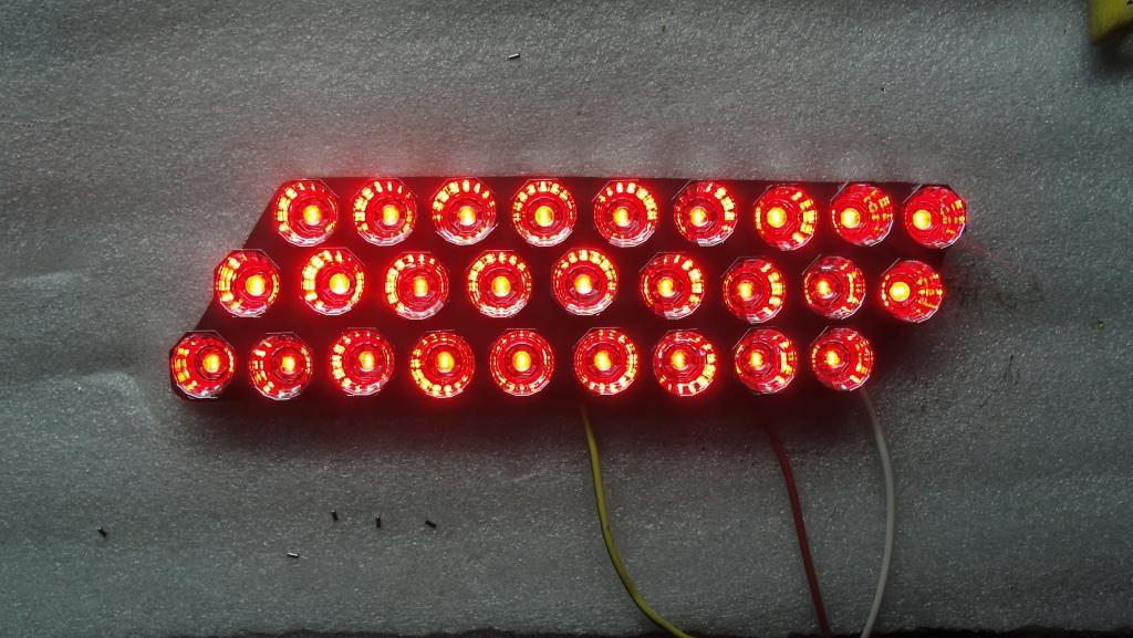 Светодиодные отражатели на бампер своими руками