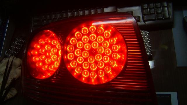 Как сделать стоп сигнал на светодиодах 143